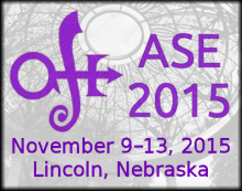 ASE 2015 Conference Logo