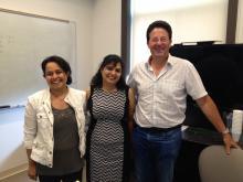 Sandeep with Advisors